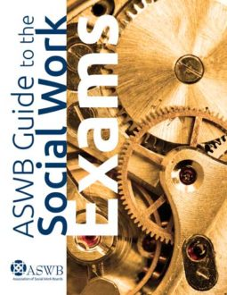 Book cover for the ASWB Guide to the Social Work Exams