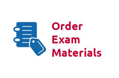 Order Exam Materials