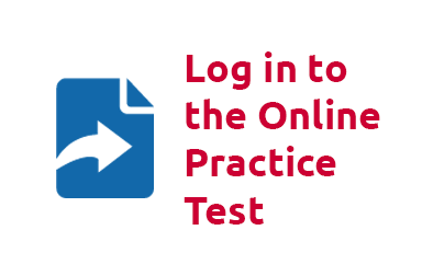 Log in to the Online Practice Test