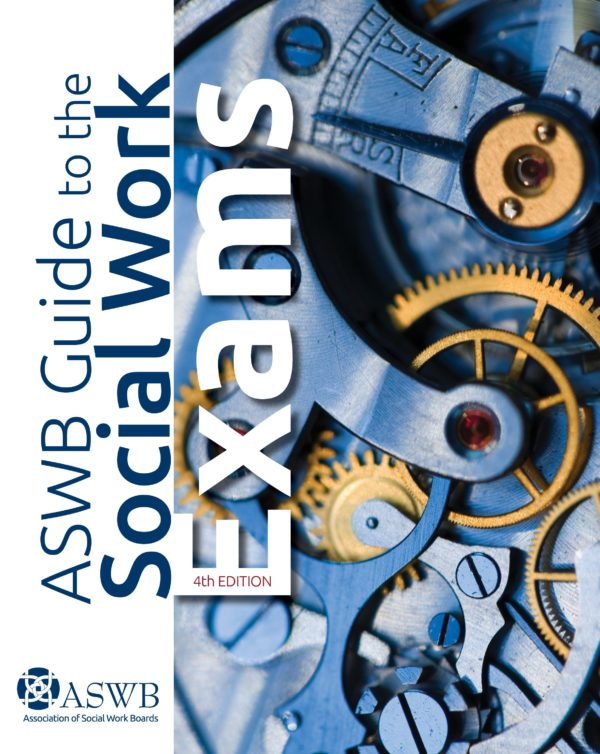 Book cover for the ASWB Guide to hte Social Work Exams