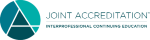 Logo for joint accreditation for interprofessional education