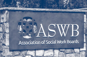 Photo of sign at ASWB headquarters